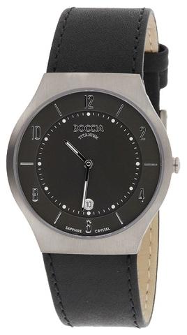 Купить Мужские наручные часы Boccia Titanium 3559-02 по доступной цене