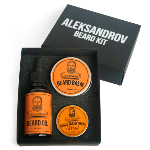 Набор для бороды ALEKSANDROV Beard Kit №1