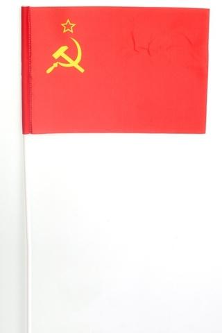 Флажок СССР на палочке 15х23 см