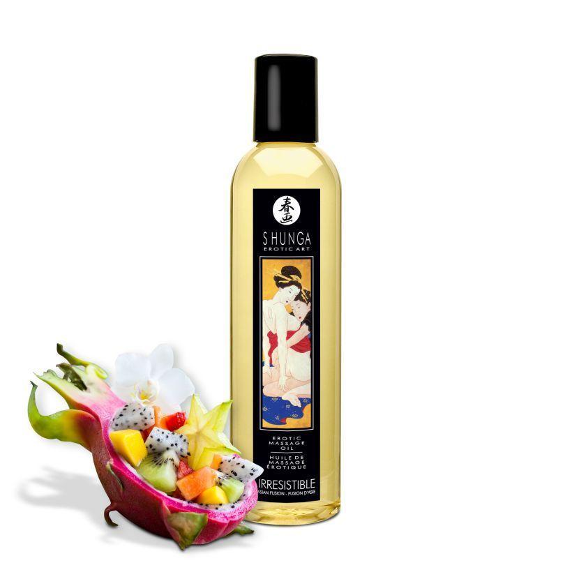 Массажные масла и свечи: Массажное масло с ароматом азиатских фруктов Irresistible Asian Fusion - 250 мл.