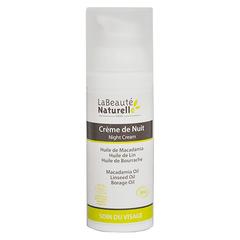 Органический ночной крем для лица, La Beauté Naturelle