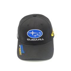 Кепка с вышитым логотипом Субару (Кепка SUBARU) черная