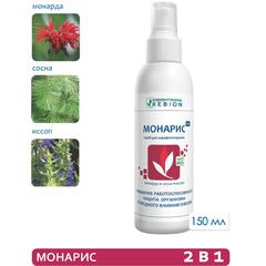 МОНАРИС (2 в 1) 150 мл антибактериальный, противовирусный спрей для помещений. Для повышения работоспособности. Активизирует потенциал организма.