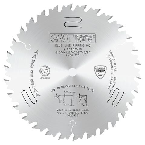 Диск пильный 254x3,2/2,3x15,875 Z=30 TCG CMT 203.630.10