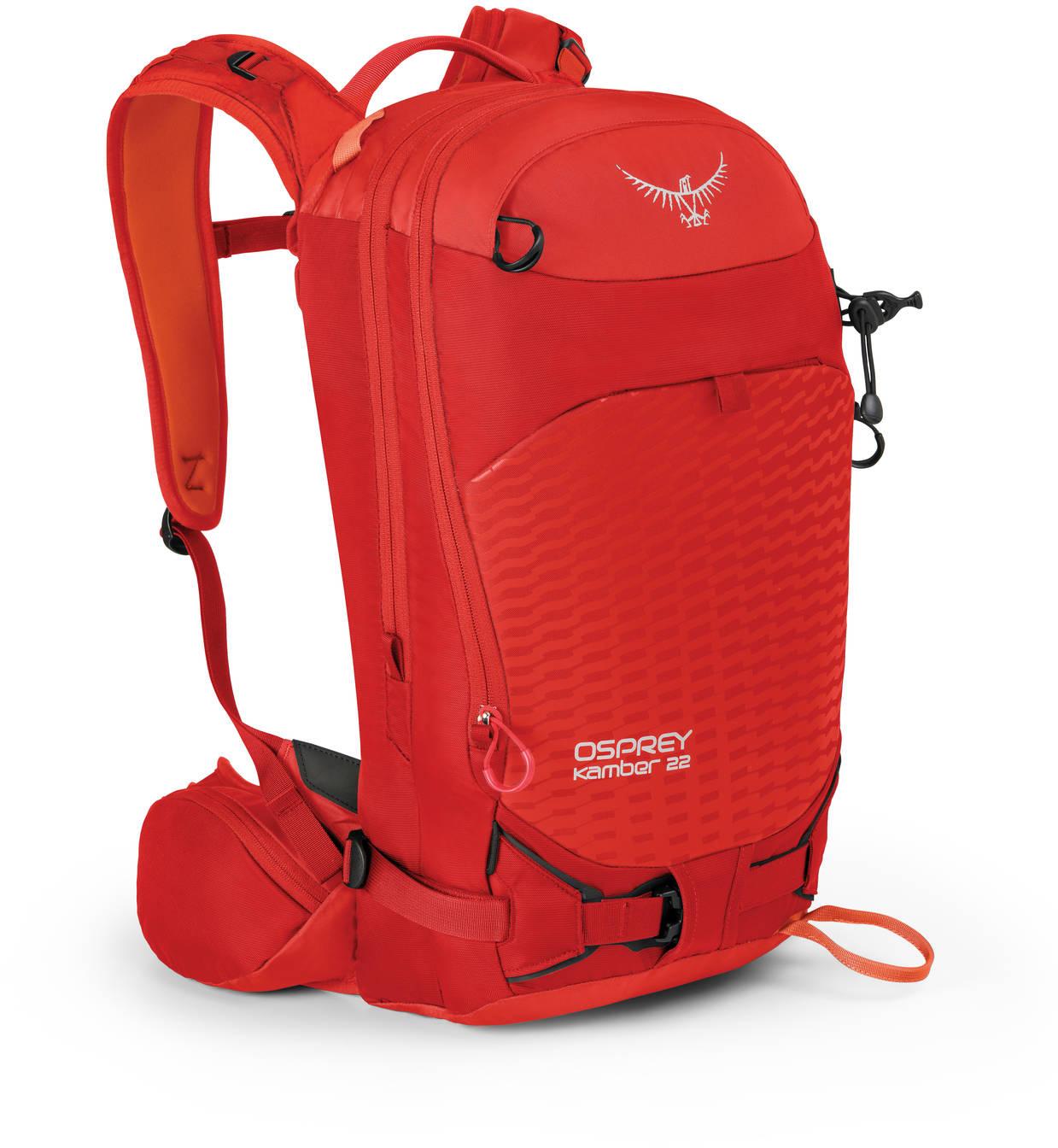 Рюкзаки для сноуборда Рюкзак сноубордический Osprey Kamber 22 Ripcord Red Kamber_22_Side_Ripcord_Red_web.jpg