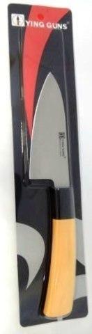Кухонный нож YG-189   115/40 мм с белой ручкой