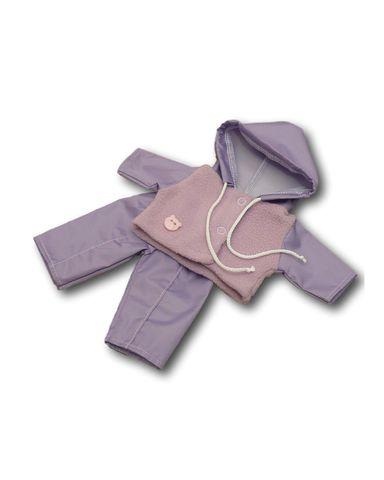 Костюм с курткой - Сиреневый. Одежда для кукол, пупсов и мягких игрушек.