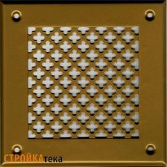 Решетка 150*150 золото, б.цветок