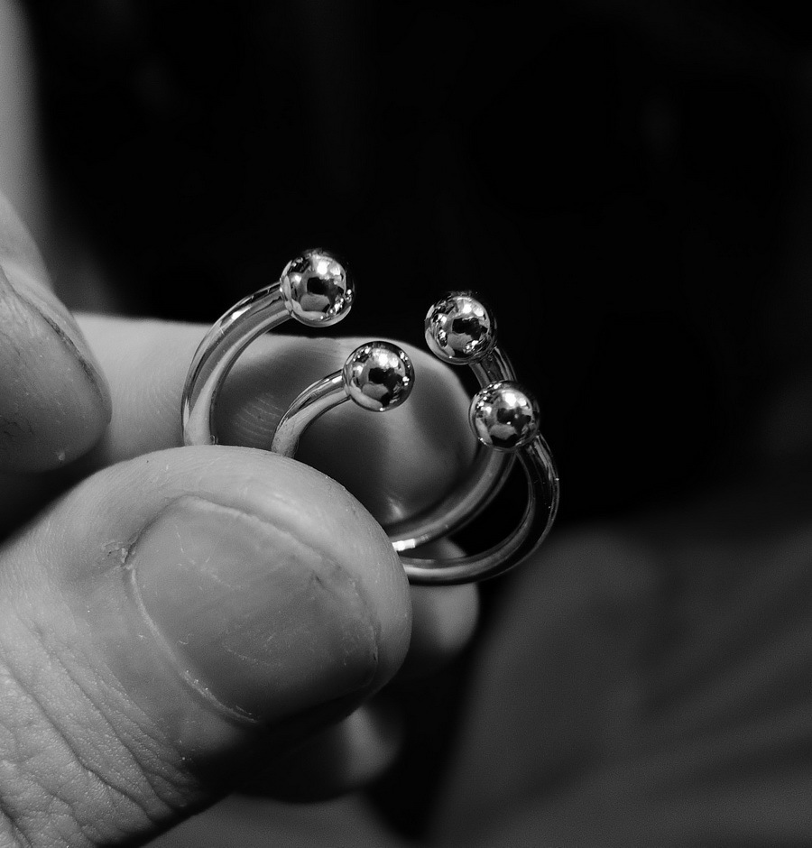 Phalanx Ring Knuckle, the small one, Sterling Silver