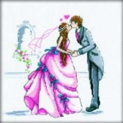 Набор для вышивания Свадьба