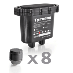 Датчики давления в шинах (TPMS) Carax CRX-1012/8 с 8-ю датчиками