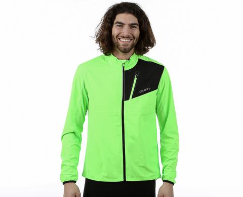 Куртка для бега Craft Devotion Run зеленая мужская