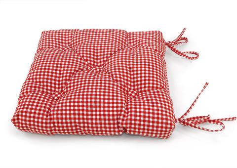 Подушка на стул Кимберли красный