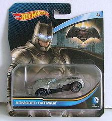 Hot Wheels Armored Batman Diecast Car