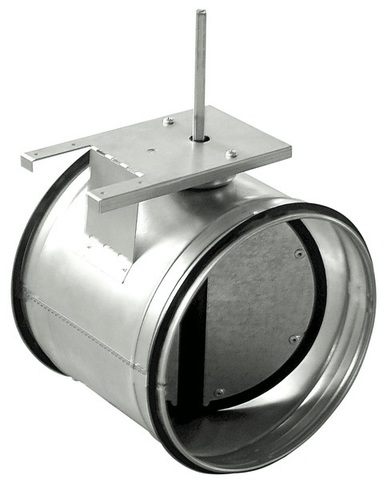 ZSK d125 Дроссель-клапан под электропривод