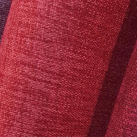 Блэкаут лен для штор красный оптом. BLL-17SH