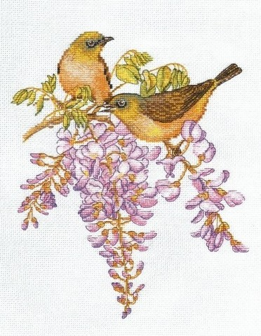 oven-945 Птички-невелички. Белоглазки