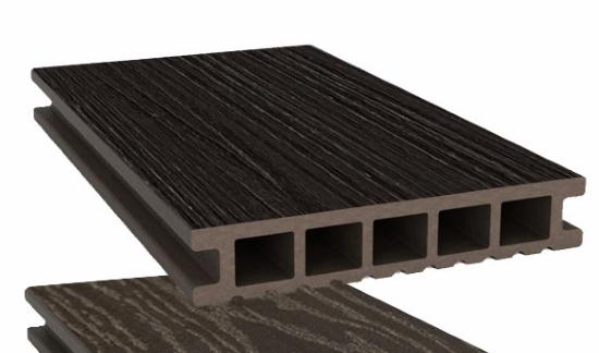 Террасная доска SW Ornus (R) темно-коричневый