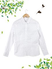 25006 рубашка женская, белая