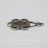 Сеттинг - основа - подвеска для камеи или кабошона 5 мм (оксид серебра)