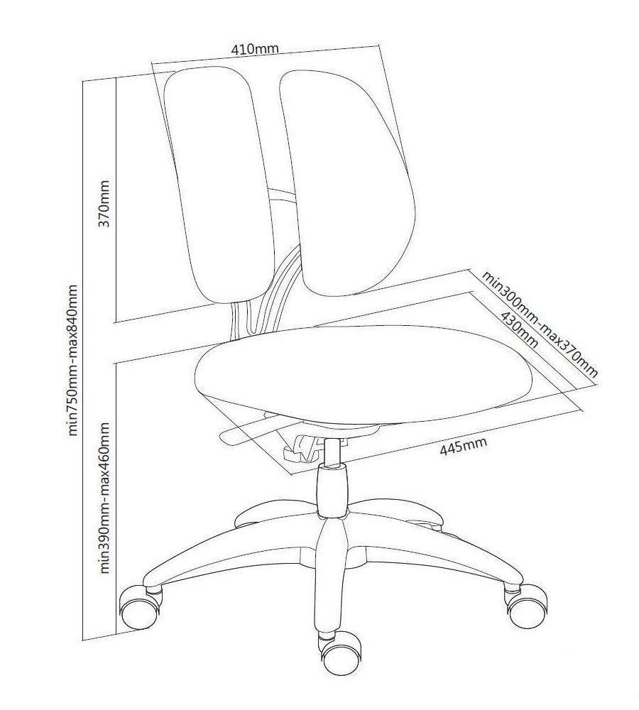 Компьютерное детское кресло FunDesk SST9