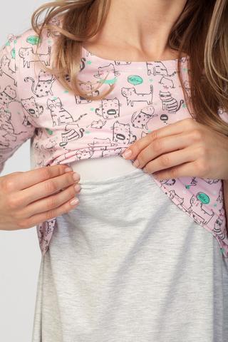 Ночная сорочка для будущих и кормящих мам