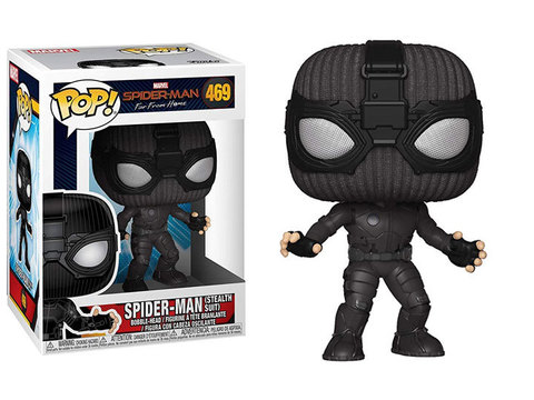POP! Bobble: Marvel: Spider-Man: Far From Home: Spider-Man (Stealth Suit) 39208