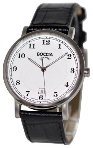 Купить Мужские наручные часы Boccia Titanium 3568-01 по доступной цене