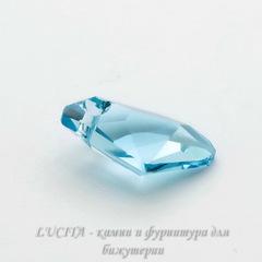 6656 Подвеска Сваровски Galactic Vertical Aquamarine (19 мм)