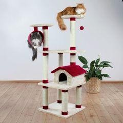 Trixie комплекс для кошки Marissa, высота 164см бежевый/красный