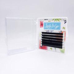Ресницы для наращивания Lash&Go, изгиб D mix (6 линий)