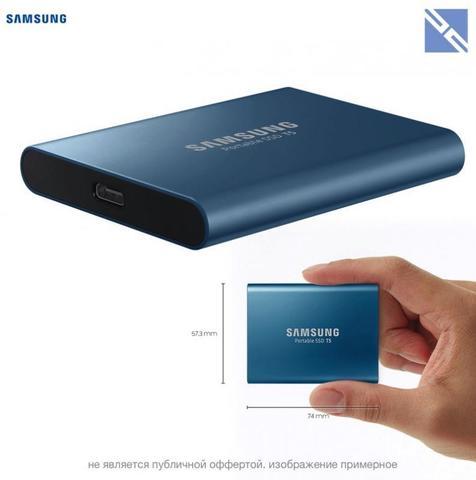 Диск SSD внешний Samsung 250Gb T5 Portable SSD