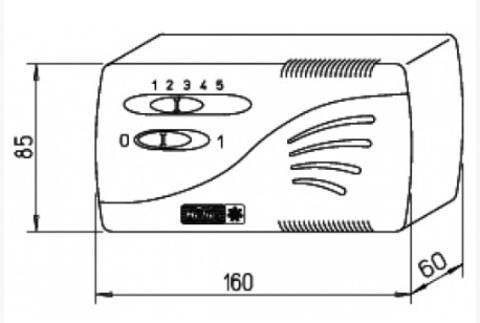 Helios TSW 0,3 - Трансформатор-регулятор скорости вращения