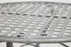 Стол складной кованый Патио (Patio) Серый — Серый