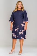 Платье из крепа 1513006 L