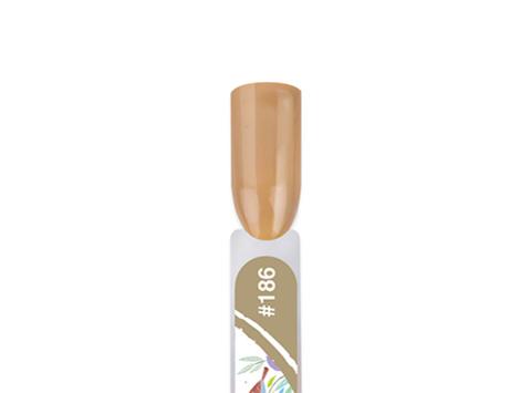 BF186-4 Гель-лак для покрытия ногтей. Flourish #186 Древесная кора