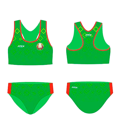 Форма национальная ATEX с гербом РБ легкоатлетическая женская (2019) ОБРАЗЕЦ