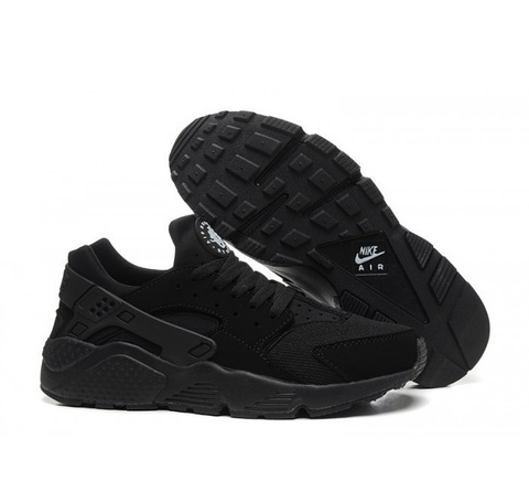 Nike-Air-Huarache-Triple-Black-Krossovki-Najk-Аir-Huarachi-Trekhmernyj-Chernyj