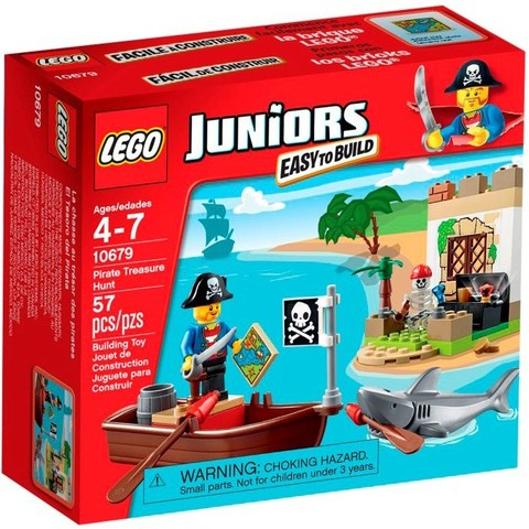 LEGO Juniors: Охота за сокровищами 10679