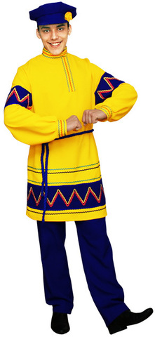 Национальный костюм Яков жёлтый