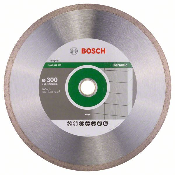 Алмазный диск Best for Ceramic 300-30/25,4 Bosch 2608602639