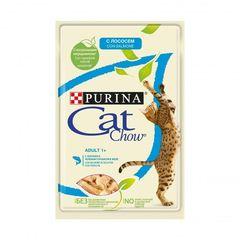 Cat Chow пауч (с лососем в желе) 85 гр