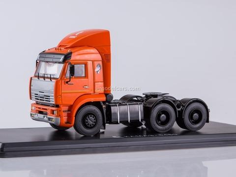 KAMAZ-6460 road tractor orange 1:43 Start Scale Models (SSM)