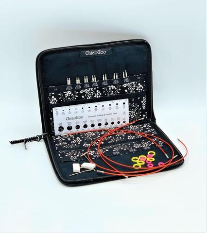 Набор съемных металлических  спиц Small  10 см  Chiaogoo 7400-S
