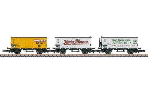 Набор вагонов для перевозки пива Marklin Z 86394