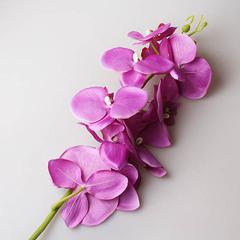 Орхидея 90 см, фиолетовая 9131
