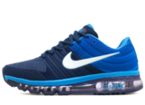 Кроссовки Мужские Nike Air Max 2017 Rubber Double Blue