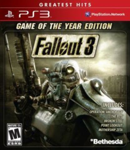 Sony PS3 Fallout 3 - Game of the Year Edition (английская версия)