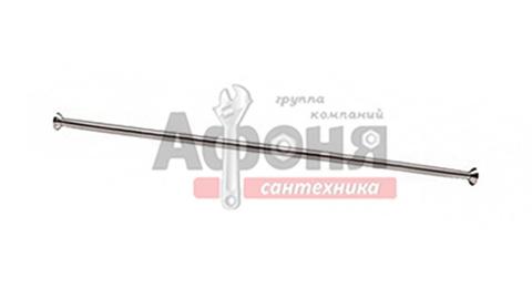 Карниз д/ванной  нержавейка прямой 2,0 м