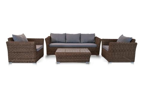 Комплект мебели «Капучино» коричневый